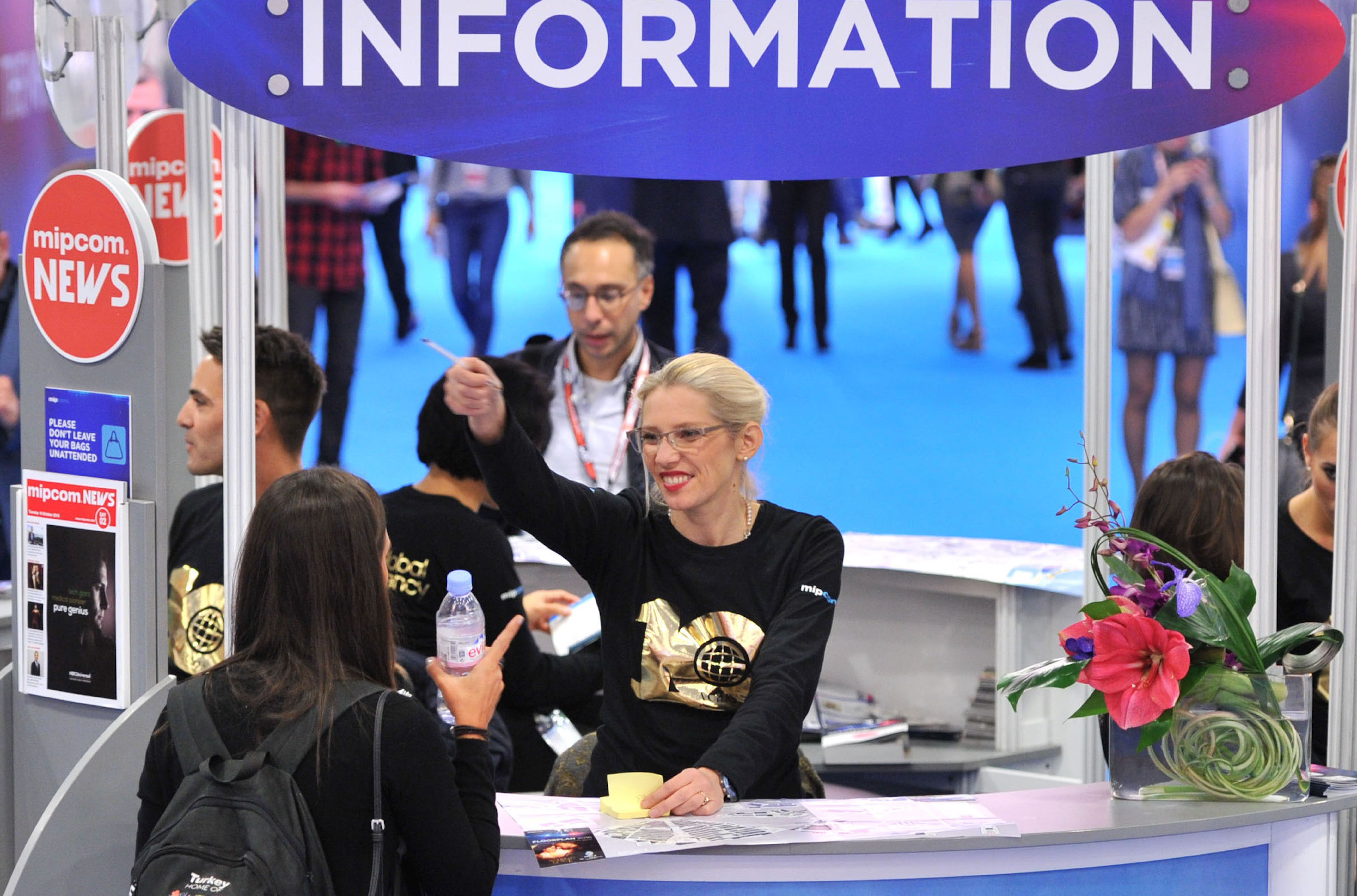 MIPCOM 2016 - SERVICES - INFORMATION POINT